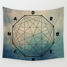 order out of ch... Wall Tapestry