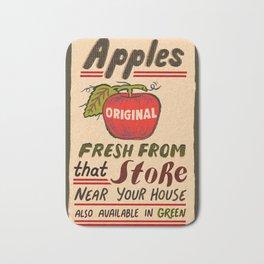 Fresh Apples Bath Mat