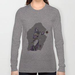 Dark sorceress by AngeloPeluso Long Sleeve T-shirt