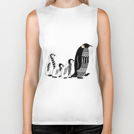 Penguins Biker Tank