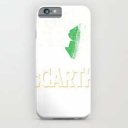 Drink Like a McCarthy St Patrick's Day Beer Gift Design T-Shirt iPhone Case