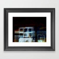 Skeletons in the Closet Framed Art Print