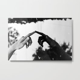 Ask your soul of you are allright Metal Print