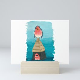Shout it from the Rooftop Mini Art Print