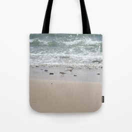 Seashore Sandpipers in tideland Tote Bag