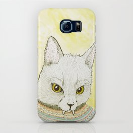 SWEATER AND ALSO CAT iPhone Case