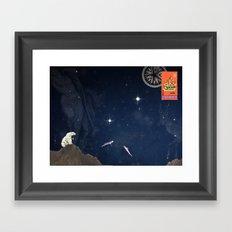 Handbook of Celestial Navigation: Plate IV Framed Art Print