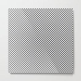 Moonless Night Polka Dots Metal Print