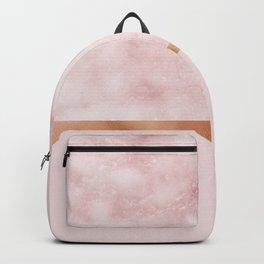 Silvec rosa on rose gold blush Backpack