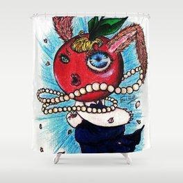 Miss Cherry Bunny Shower Curtain