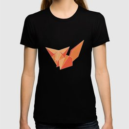 "Collection ""Origami"" impression ""Fox Paper"" T-shirt"