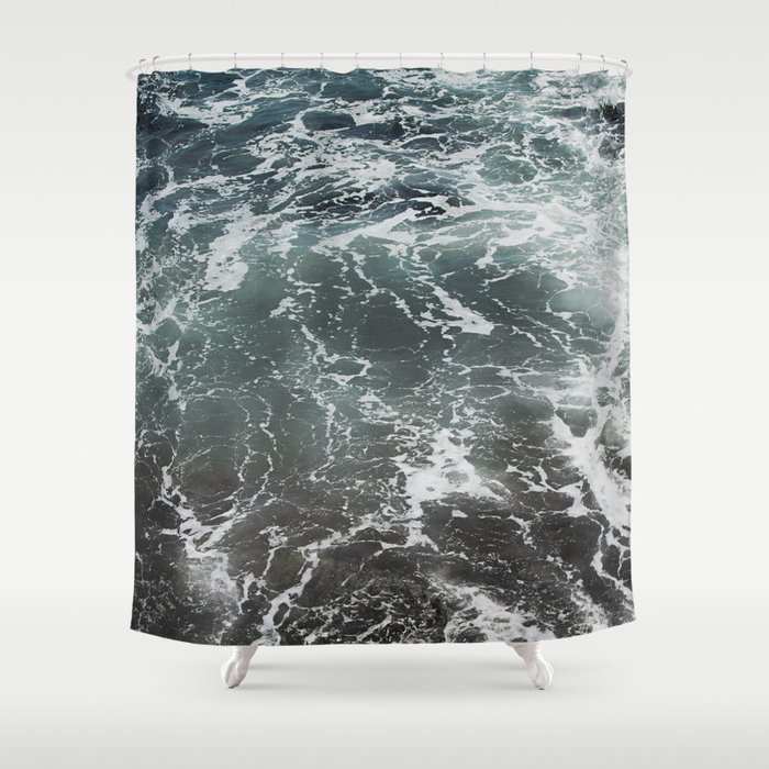 Emerald Gaze Shower Curtain