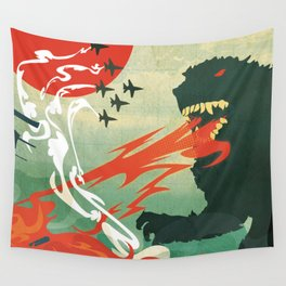 Tokyo or Bust Wall Tapestry