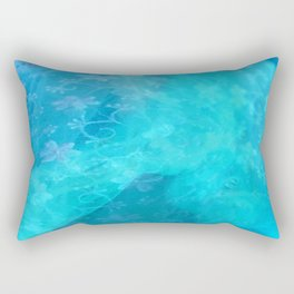 ghost in the swimming pool #003 Rectangular Pillow