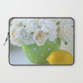 Polka Dots and a Lemon Laptop Sleeve