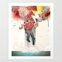Crooked Creek #9 Art Print
