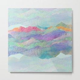 Everything Beautiful- Mountain Metal Print