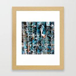 Smeared Framed Art Print