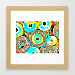All is a circle Framed Art Print