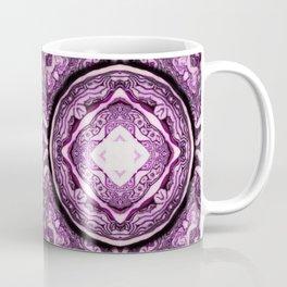 VeggieMandala Red Cabbage 3 Coffee Mug