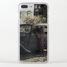 El viaje Clear iPhone Case