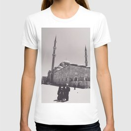 Istanbul mosque photo, black & white fine art, Turkey photography, Middle East T-shirt