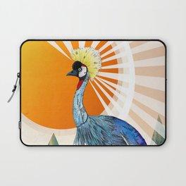 Crowned Crane Laptop Sleeve