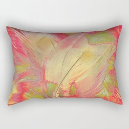Blanket Of Feathers Rectangular Pillow