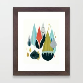 Mod Drops Framed Art Print