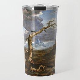 Washington Allston Elijah in the Desert Travel Mug