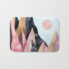 Mauve Peaks Bath Mat