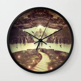 Nightly Retreat  Wall Clock