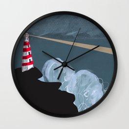 Atlantic Lighthouse  Wall Clock