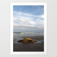 Bright Beautiful Beach Day Art Print