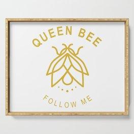 Queen bee Serving Tray