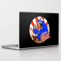 kaiju Laptop & iPad Skins featuring Kookie Kaiju by Joel Jackson