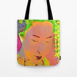 Geisha Pop Art Tote Bag