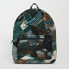 Aerial City View (Color) Backpack