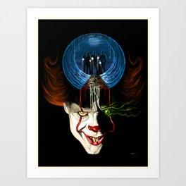 We All Float Down Here Art Print