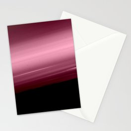 Merlot Wine Smooth Horizon Ombre Stationery Cards