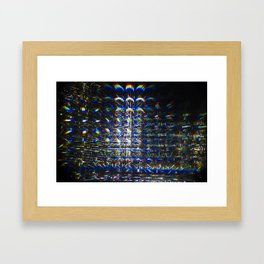 Reflection of a Reflection of a Reflection Framed Art Print