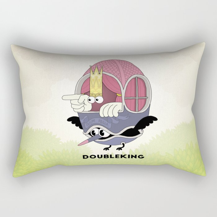 DOUBLE KING: Ovum Regia Rectangular Pillow