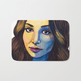 Meaghan Watercolor Bath Mat
