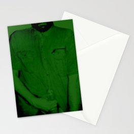 Here I Am-green Stationery Cards