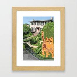 Harry Kumar visits Andrew Low Framed Art Print