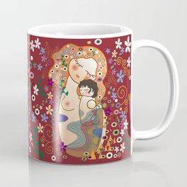 Kokeshi Mother&child Coffee Mug