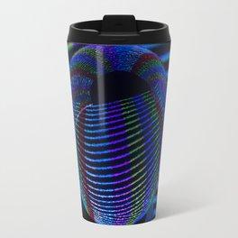 Twirls in the crystal. Travel Mug