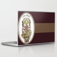 tarot Laptop & iPad Skins featuring Moon Tarot by A Hymn To Humanity