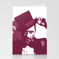 robert downey jr Stationery Cards featuring Mr. Robert Downey Jr. by Arianrhod