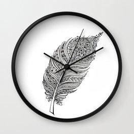 Princess feather Wall Clock